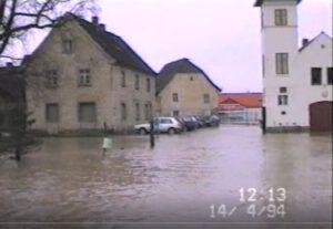 Hochwasser 1994 – Privates Video 2