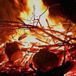 Gatersleben Feuer Maifeuer Vormaifeuer Vor-Maifeuer Lagerfeuer