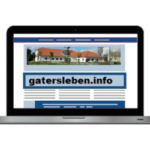 Gatersleben blog logo website webseite homepage