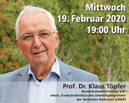 Gatersleben Vortrag Die Krise der parlamentarischen Demokratie – Diagnose und Therapie. Vortrag von Prof. Dr. Klaus Töpfer