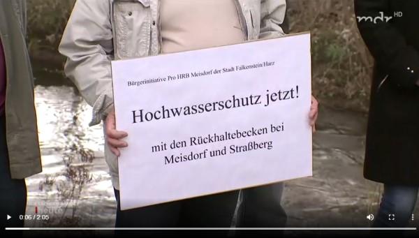 Read more about the article MDR Sachsen-Anhalt heute – (Kein) Hochwasserschutz an der Selke