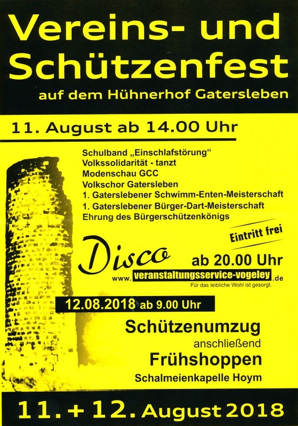 Read more about the article Sommerfest der Vereine 2018