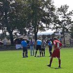 Halbfinale Kreisklassenpokal SV Saxonia 1929 Gatersleben gegen SV Rotation Aschersleben Fußball Fussball football soccer Sportverein ASL