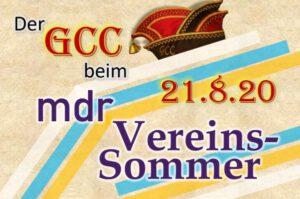 Read more about the article Der GCC präsentiert sich bei mrd Vereinssommer 2020