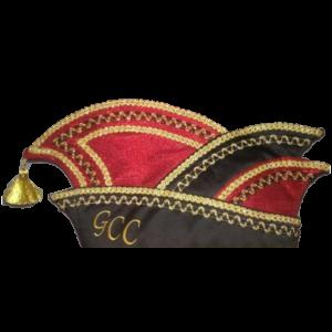 GCC Gaterslebener Carnevalsclub e.V. Narrenkappe Logo