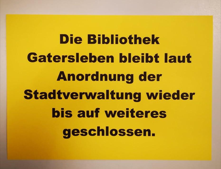OFFENER BRIEF an die Bürgermeisterin der Stadt Seeland – Öffnung Stadtbibliothek und FKZ