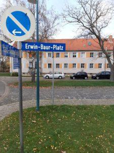 Read more about the article Erwin-Baur-Platz erstmals Thema im Ortschaftsrat