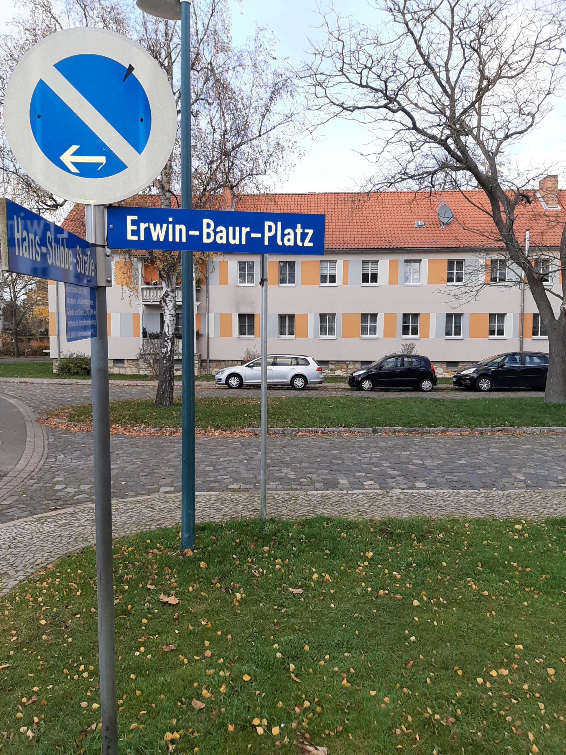 Erwin-Baur-Platz erstmals Thema im Ortschaftsrat