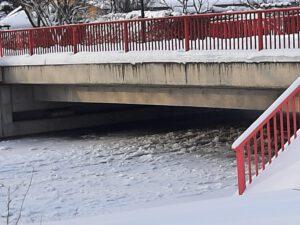Bitte um Beachtung/Vorsorge: Risiko vor Hochwasser in Gatersleben