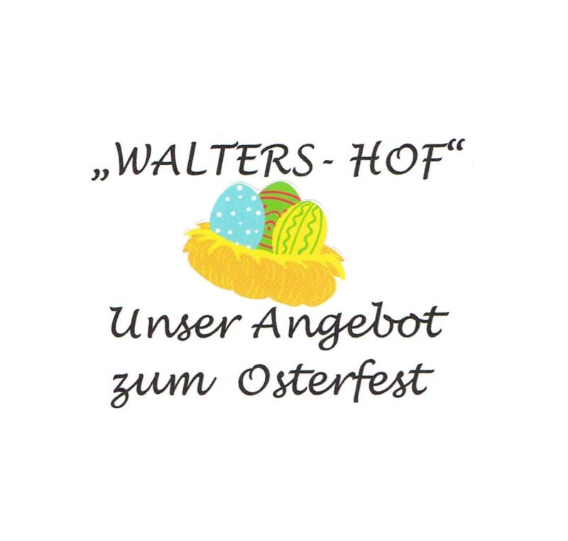 Read more about the article Waltershof – Angebote zum Osterfest 2021