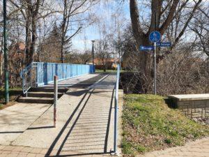 Gefahrenpunkte an den beiden Fahrrad- und Fußgängerbrücken werden beseitigt