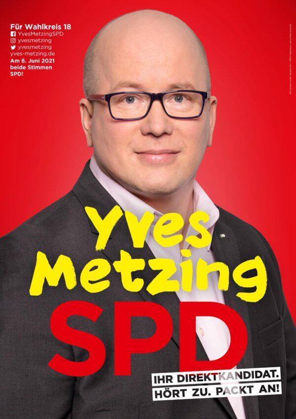 Read more about the article Der Direktkandidat Yves Metzing (Sozialdemokratische Partei Deutschland – SPD) beantwortet heute die Fragen von gatersleben.info zur Landtagswahl am kommenden Sonntag, 6. Juni