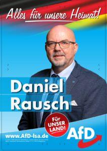 Read more about the article Der Direktkandidat Daniel Rausch (Alternative für Deutschland – AfD) beantwortet heute die Fragen von gatersleben.info zur Landtagswahl am 6. Juni