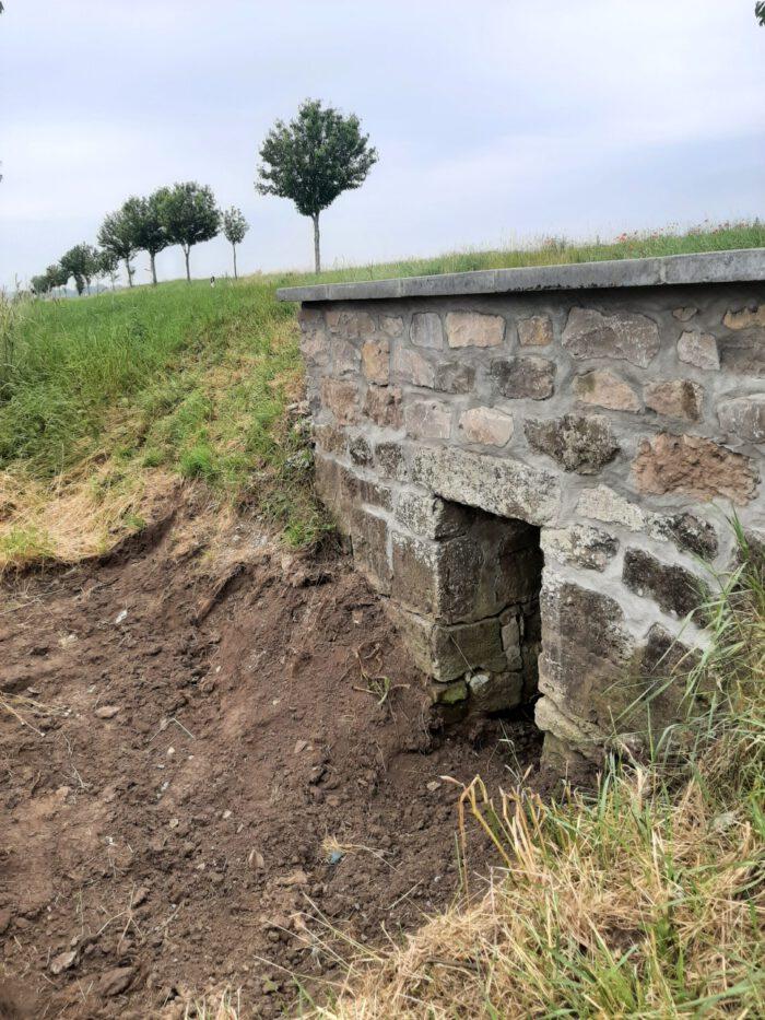 Kreisstraße nach Quedlinburg wieder für Durchfluss von Oberflächenwasser ertüchtigt